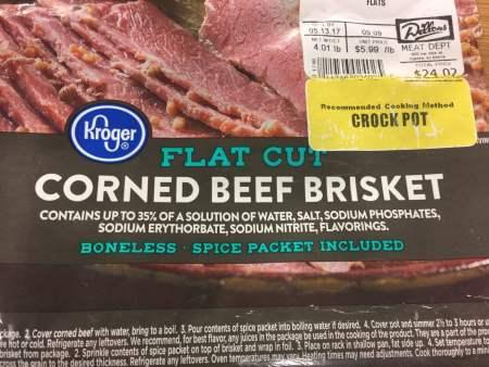 Corned Beef | Chef Alli's Farm Fresh Kitchen