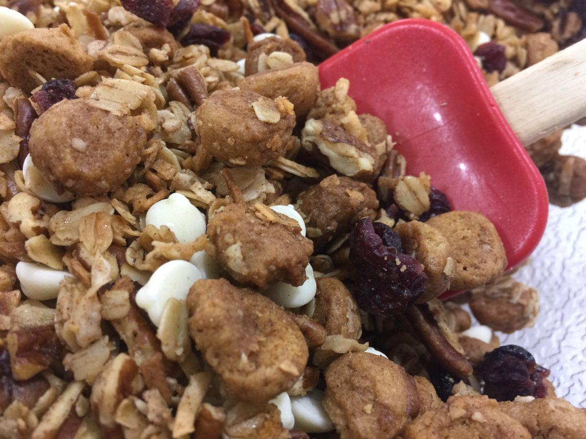 White Maple Peppernut Granola | Chef Alli's Farm Fresh Kitchen