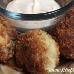 Corned Beef Fritters with Dipping Sauce | Chef Alli's Farm Fresh Kitchen