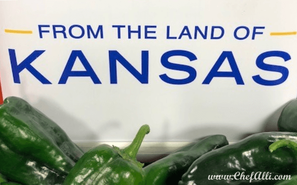 Kansas Peppers from A&H Farm | Chef Alli
