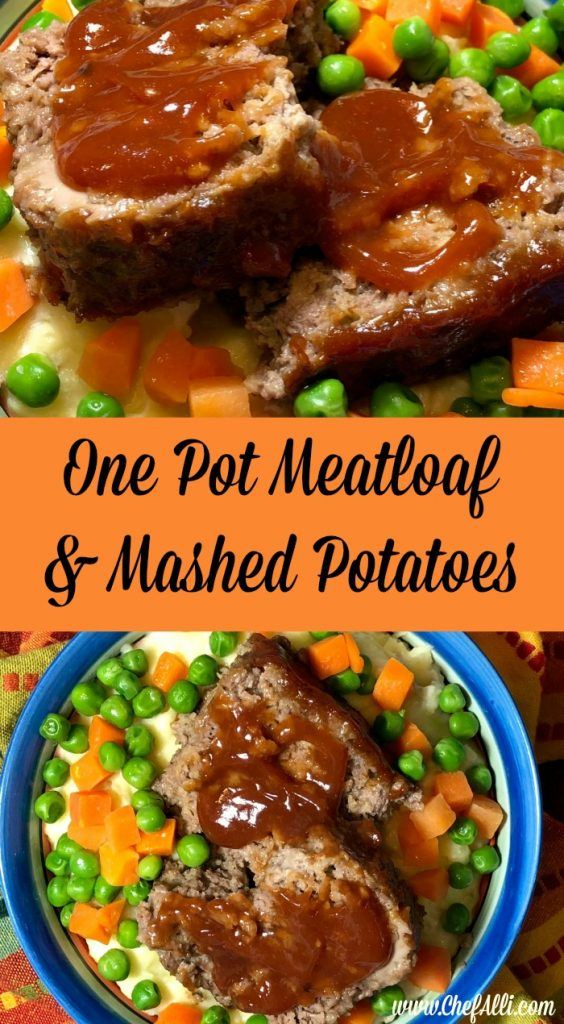We're all familiar with the classic comfort food of meatloaf and mashed potatoes, and that's why your family is going to love One-Pot Meatloaf and Mashed Potatoes Supreme. All you need is ONE BITE and you'll be hooked! And if you've got any leftovers, be sure to make a grilled meatloaf sandwich for lunch the next day. #MeatLoaf #InstantPot #OnePotMeals