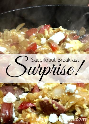 If you love sauerkraut, then you'll adore this Sauerkraut Breakfast Skillet!