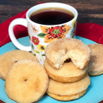 My sons adore these donuts. I love how they make the whole house smell like a bakery! And don't think you can east just ONE. :)