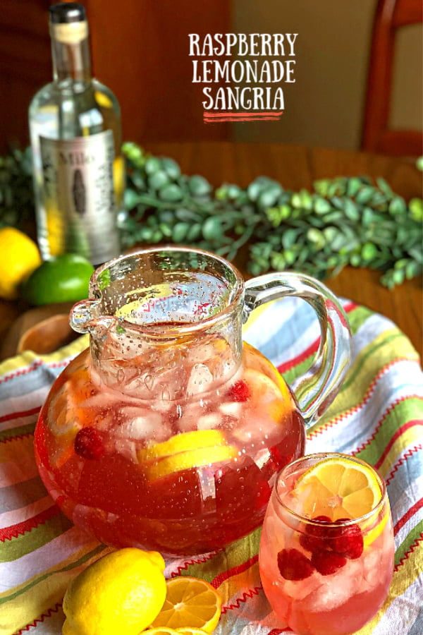 Spring has sprung, which means it's time for fresh and refreshing flavors, even in your Sangria!