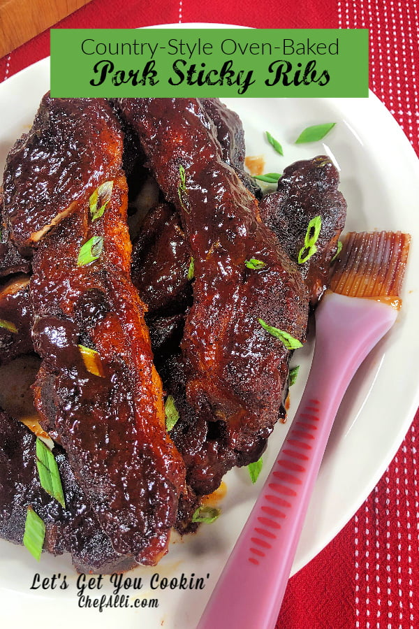 Style Pork Ribs Country Baked Tender
