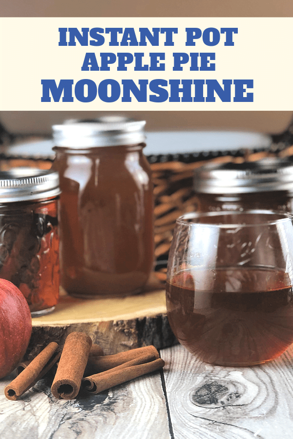 Instant Pot Apple Pie Moonshine makes great gifts.