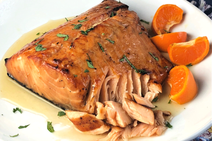 Salmon plus 3 other ingredients - dinner's done in a flash!