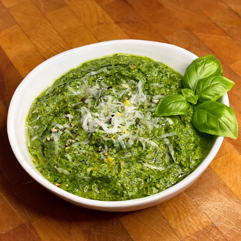 Basil & Spinach Pesto