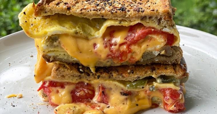 Sausage, Jalapeno, Egg & Cheese Breakfast Sandwich
