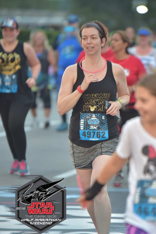 runDisney Star Wars The Dark Side Half Marathon Weekend