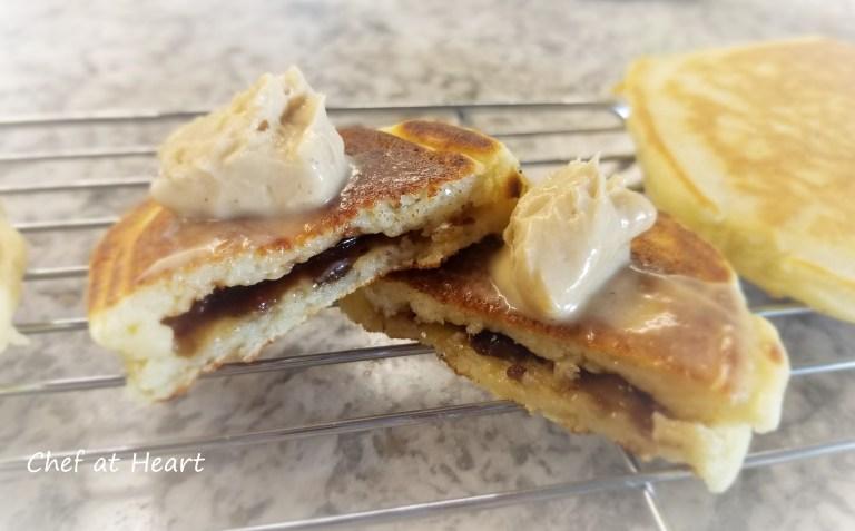 Gluten-free mincemeat pancakes