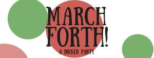March Forth! A Dinner Party @ Unitarian Church of Calgary | Calgary | Alberta | Canada