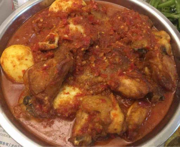 印尼辣椒雞