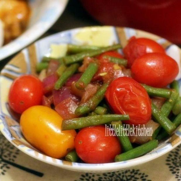 意大利陳醋番茄暖沙律