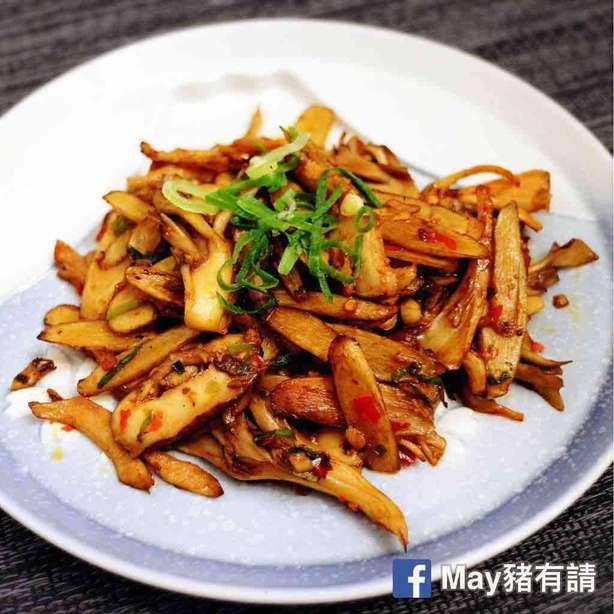 香辣牛蒡炒鮮菌