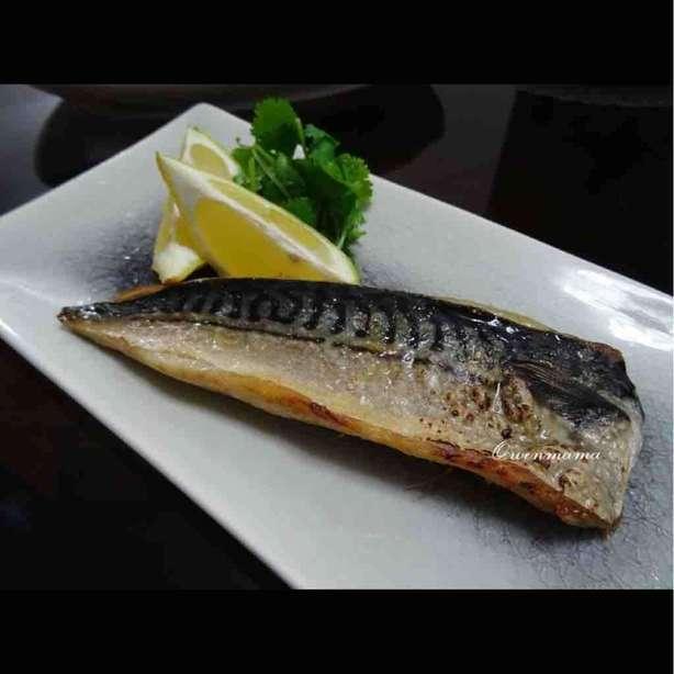 日式鹽燒鯖魚