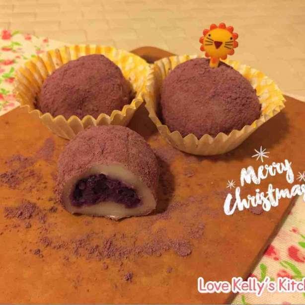紫薯糯米糍