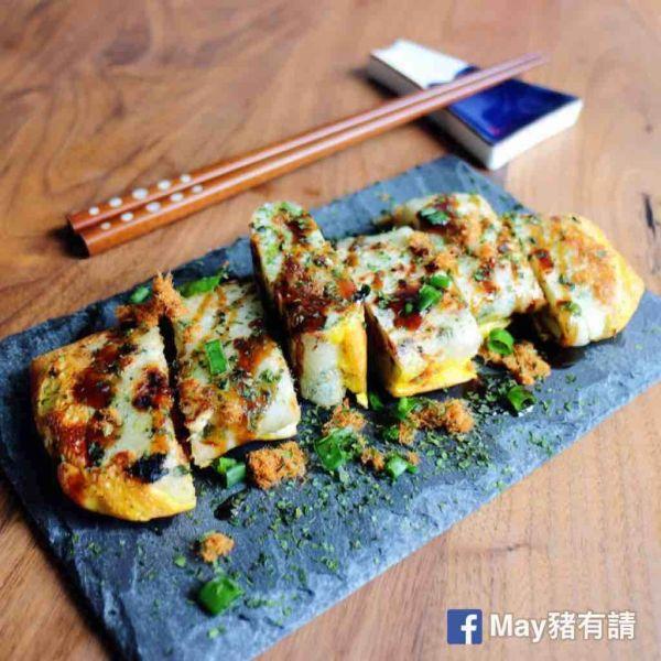 台式肉鬆蛋餅
