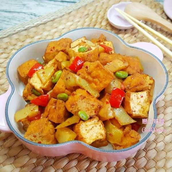 孜然酸菜燴豆腐