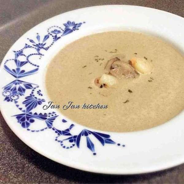 低脂海鮮蘑菇濃湯