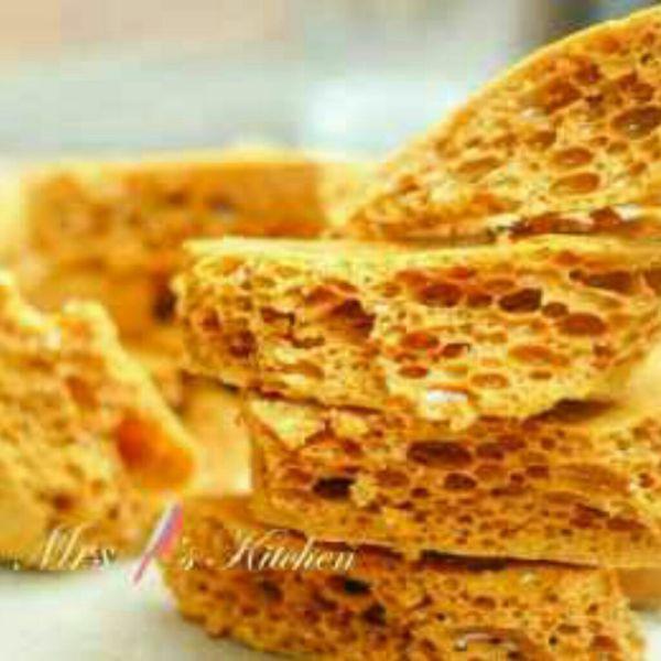 焦糖蜂巢脆餅Honeycomb