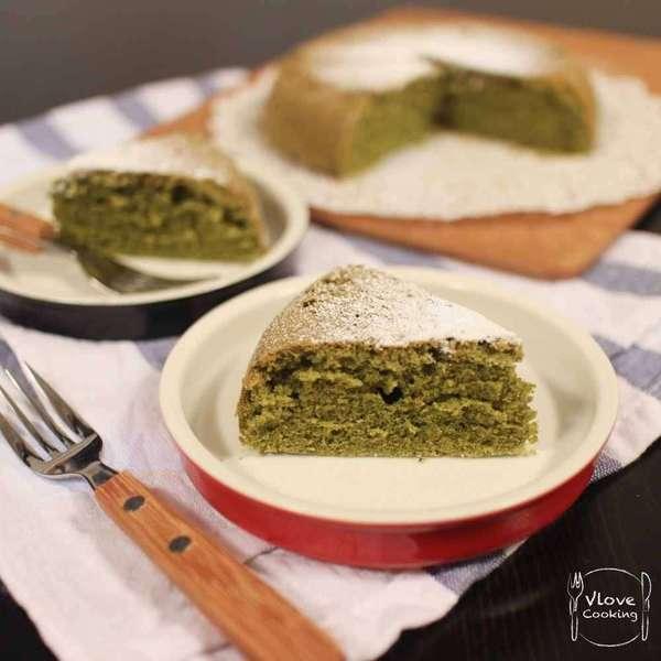 綠茶海綿蛋糕