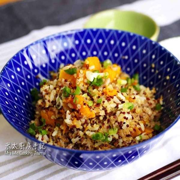 南瓜肉燥藜麥飯