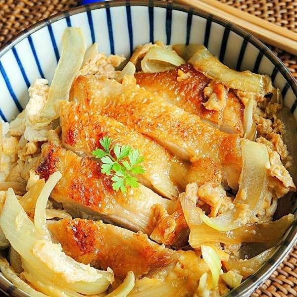 日式滑蛋雞扒飯