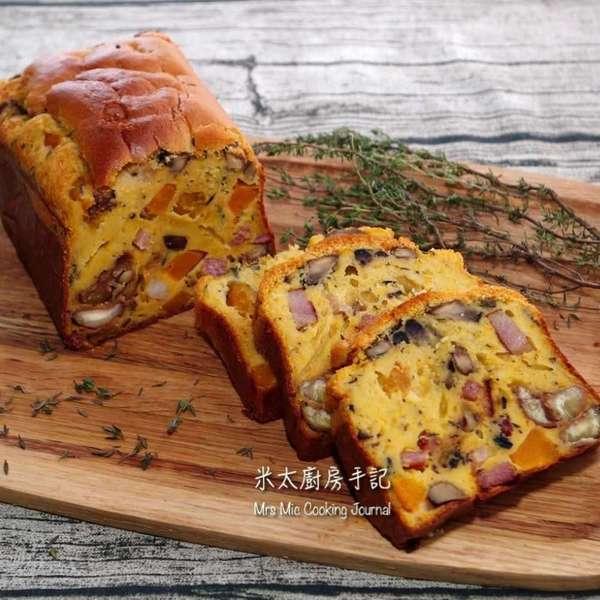 法式南瓜煙肉鹹蛋糕