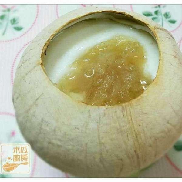 燕窩鮮奶燉椰皇