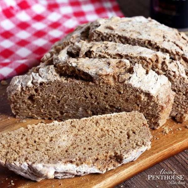 特快歐式黑啤麵包