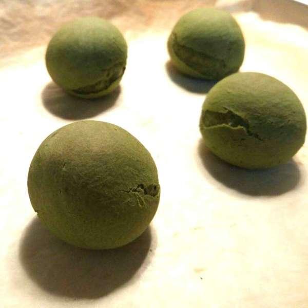 綠茶麻糬波波