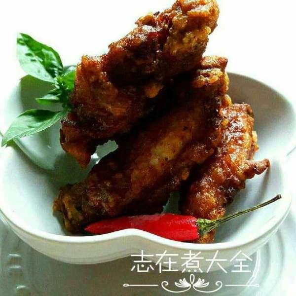 頂呱呱炸泰式咖哩單骨雞翼