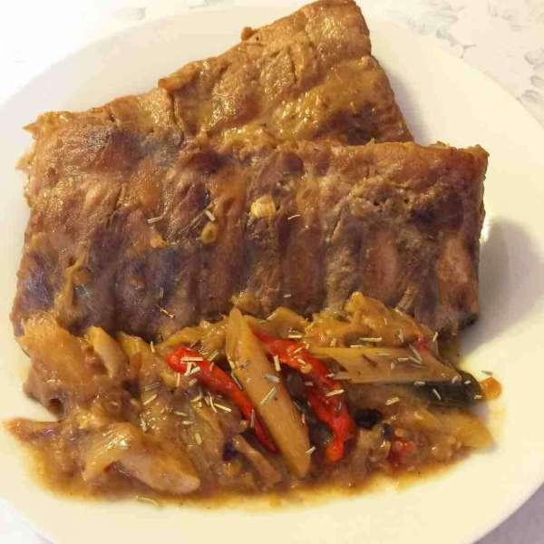 泰式椰香炆豬肋排Ribs
