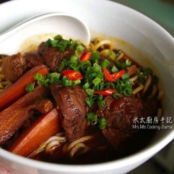 紅燒牛肉麵-簡化版