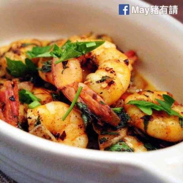 西班牙式蒜片蝦
