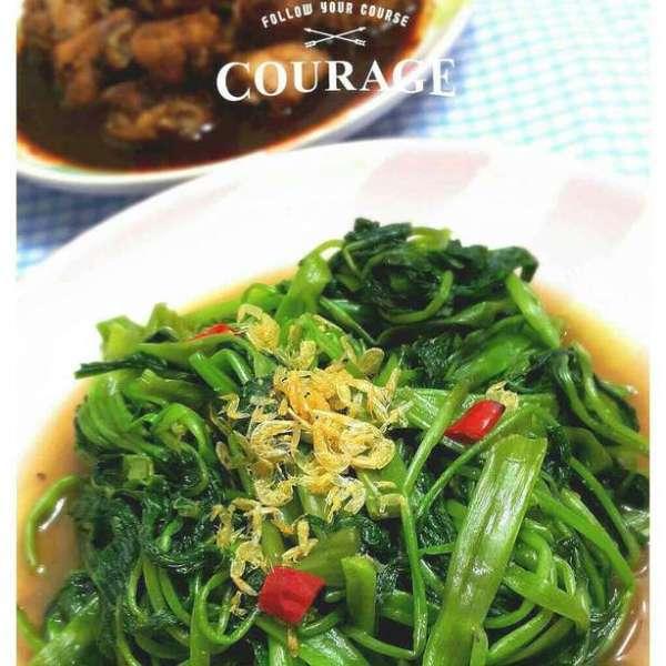 馬拉盞炒通菜