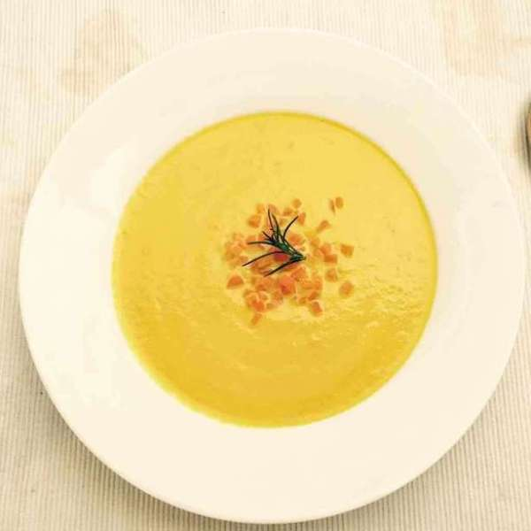 Carrot Veloute 紅蘿蔔忌廉濃湯