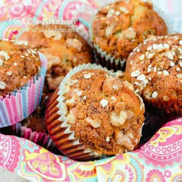 健康香蕉核桃鬆餅Muffin