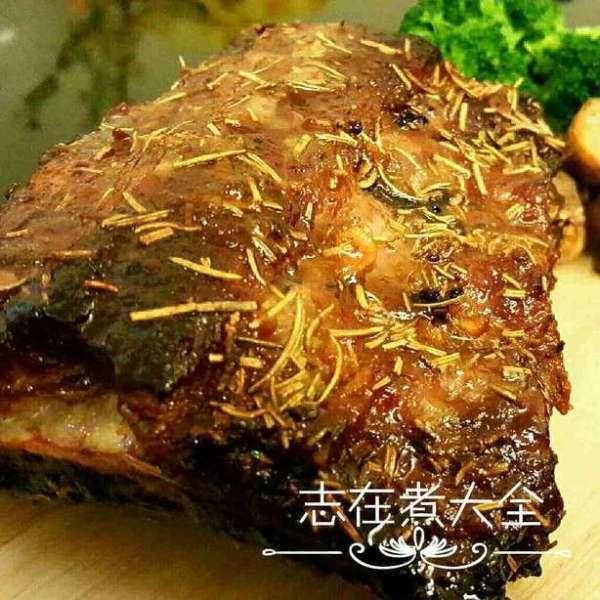 甜蜜蜜香草烤焗醬豬仔骨