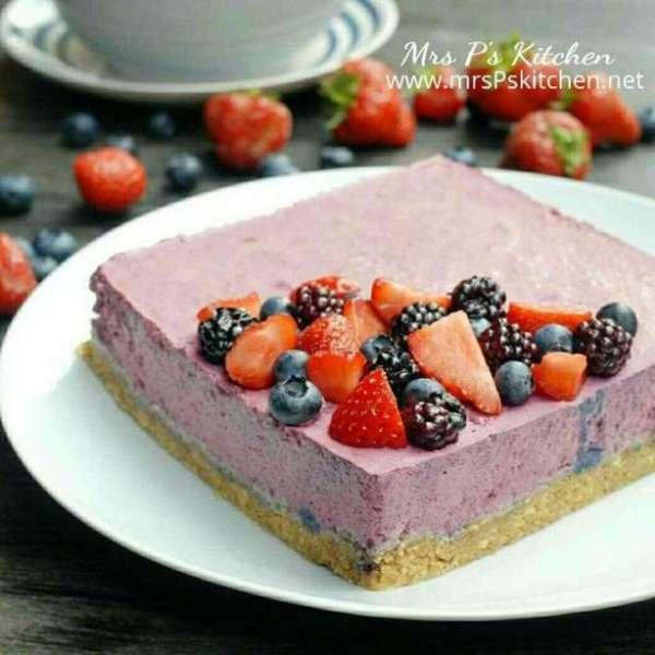 雜莓慕絲凍餅Mousse Cake【簡單免焗】