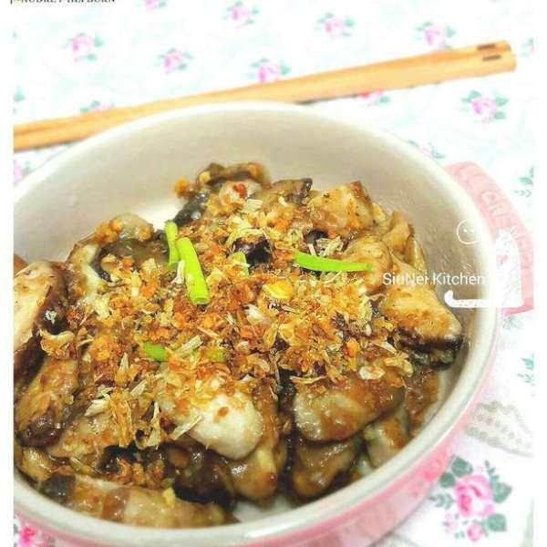 美極蒜香炒雜菇
