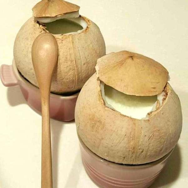 椰皇燉蛋白