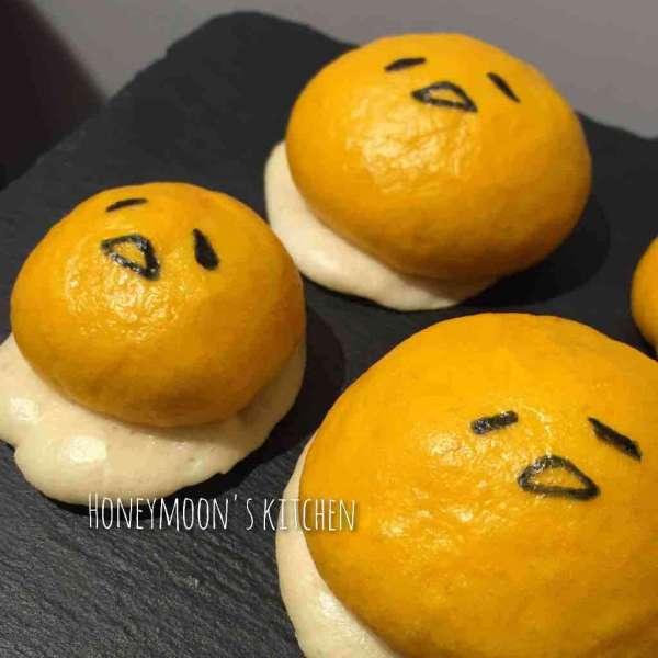 蛋黃哥南瓜饅頭(直接法)