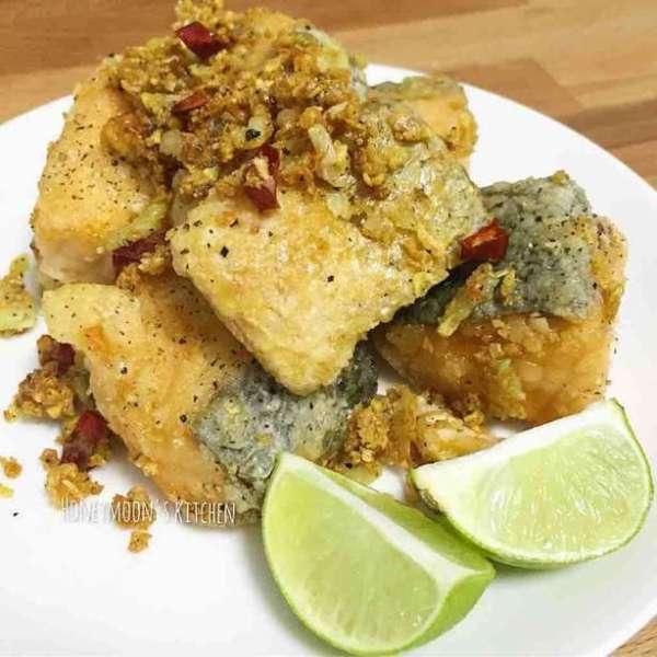青檸椒鹽三文魚