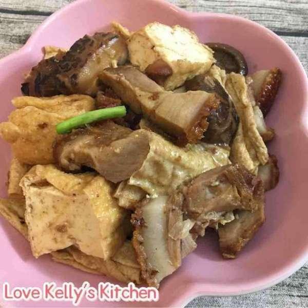枝竹豆腐炆火腩