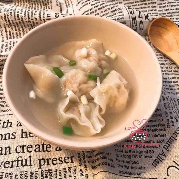 椰菜蝦仁豬肉餃