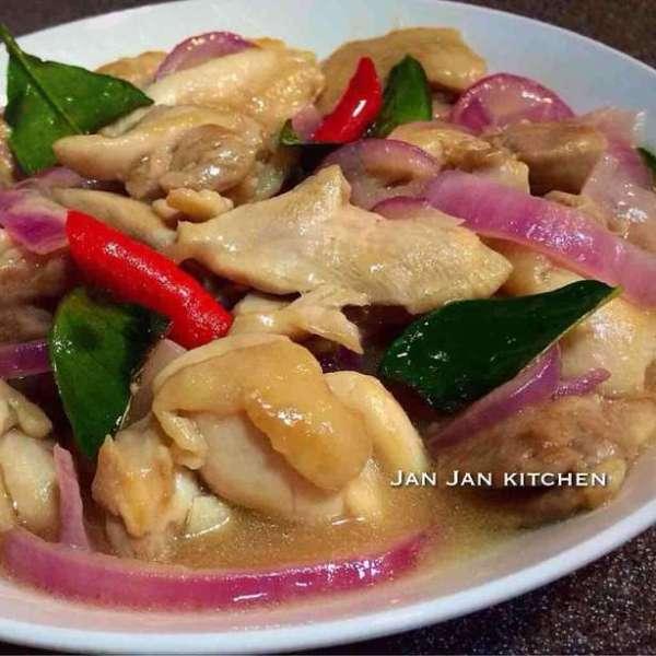 泰式魚露炒雞球
