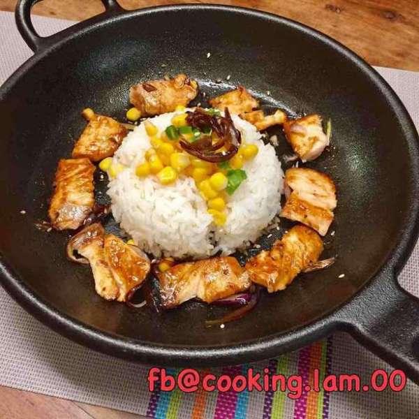 三文魚 Pepper lunch