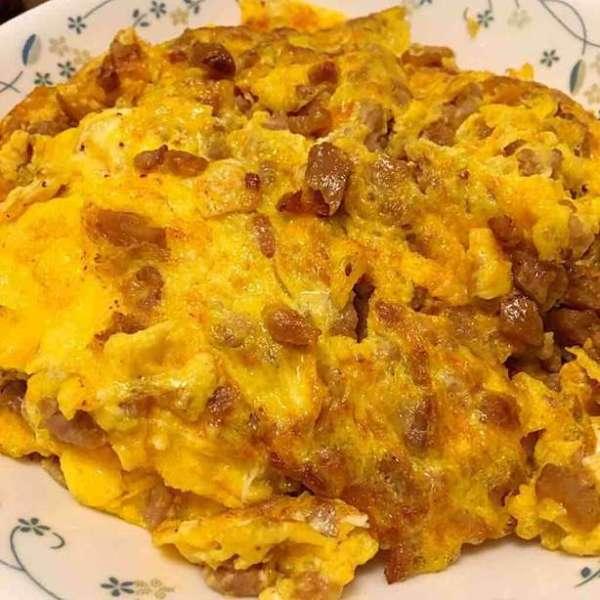潮州菜脯煎蛋